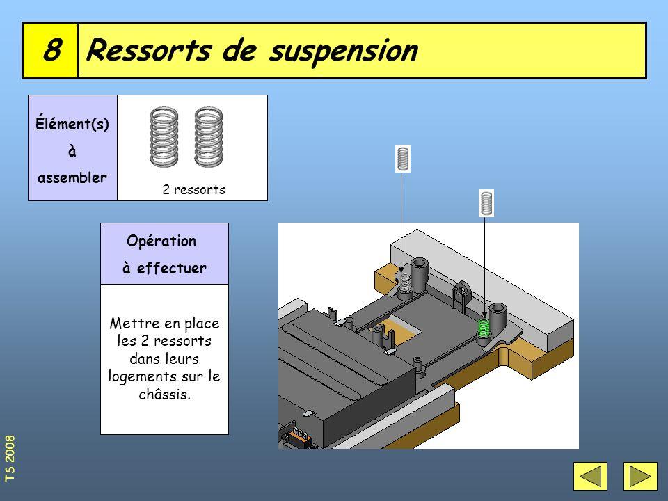 Ressorts de suspension