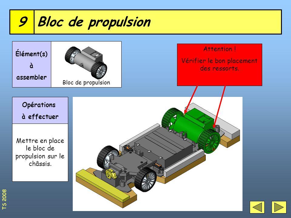 9 Bloc de propulsion Attention !