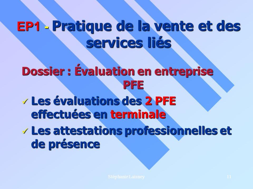 EP1 - Pratique de la vente et des services liés