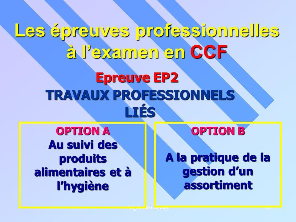 Les épreuves professionnelles à l'examen en CCF