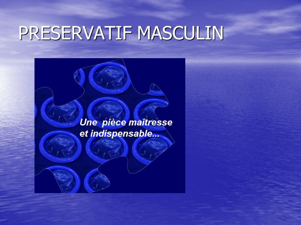 PRESERVATIF MASCULIN