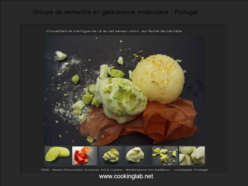 Groupe de recherche en gastronomie moléculaire - Portugal