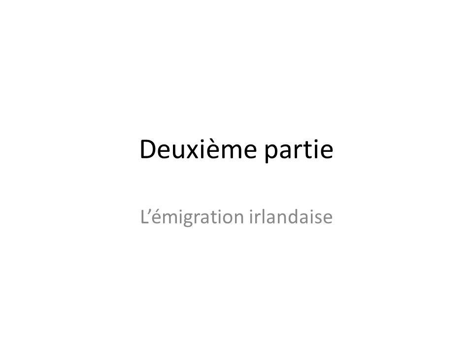 L'émigration irlandaise