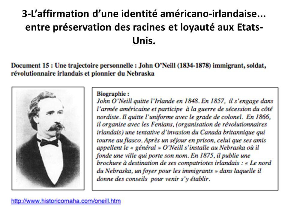 3-L'affirmation d'une identité américano-irlandaise