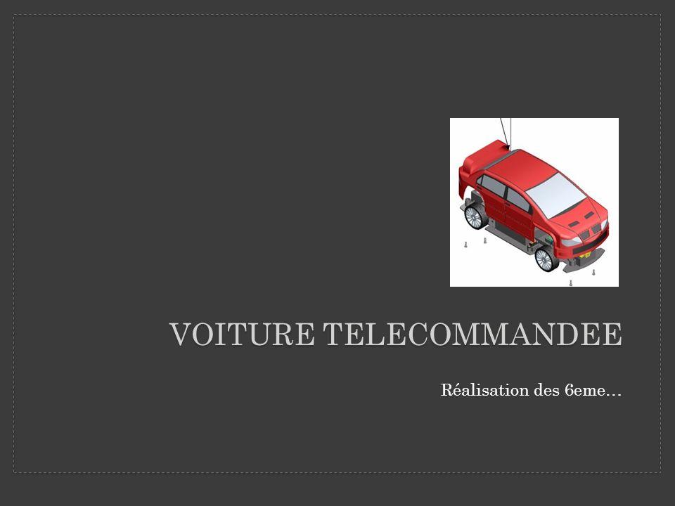 VOITURE TELECOMMANDEE