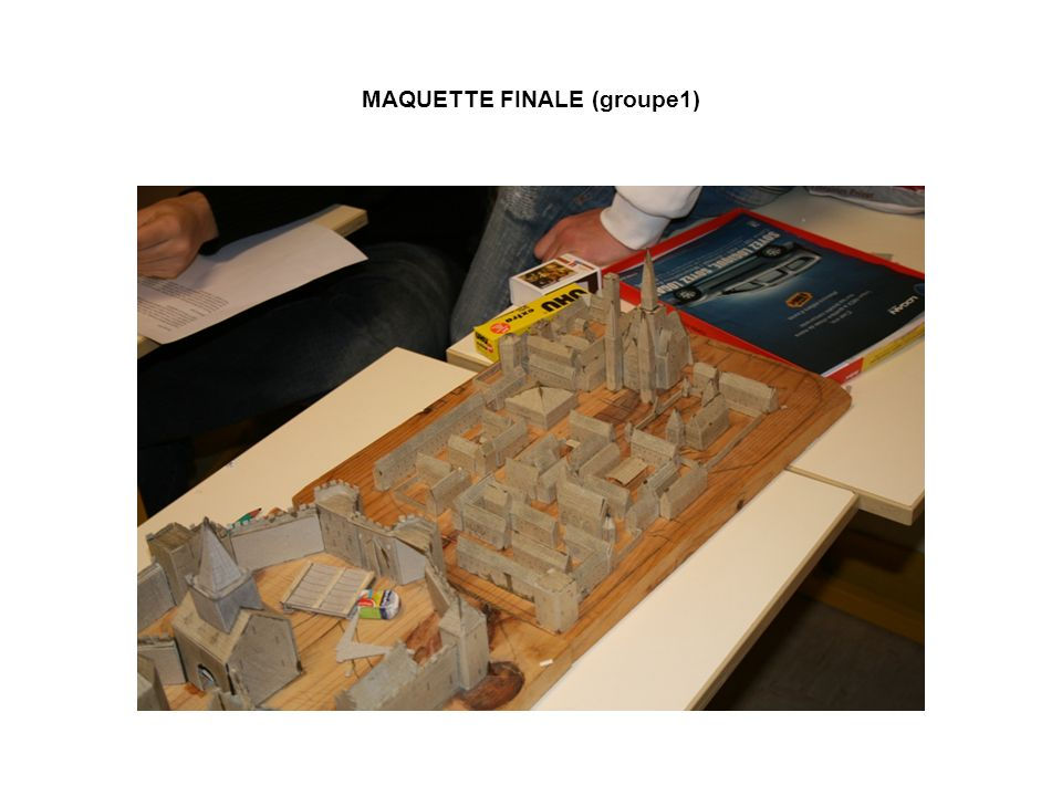 MAQUETTE FINALE (groupe1)