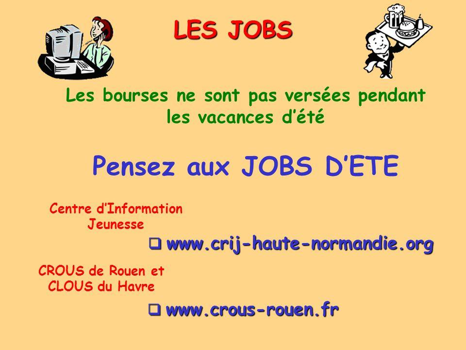 Pensez aux JOBS D'ETE LES JOBS