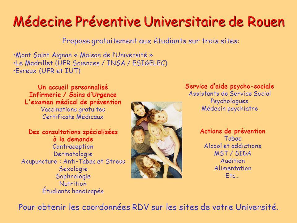 Médecine Préventive Universitaire de Rouen