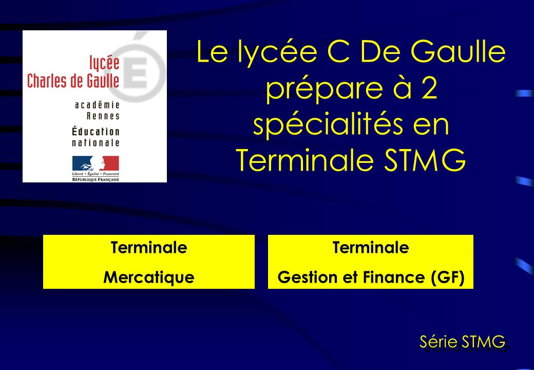 Gestion et Finance (GF)