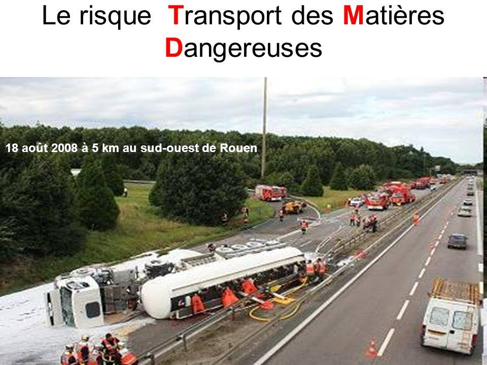 Le risque Transport des Matières Dangereuses