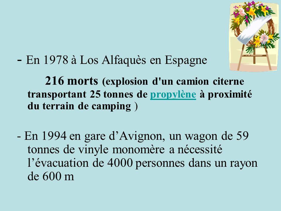- En 1978 à Los Alfaquès en Espagne