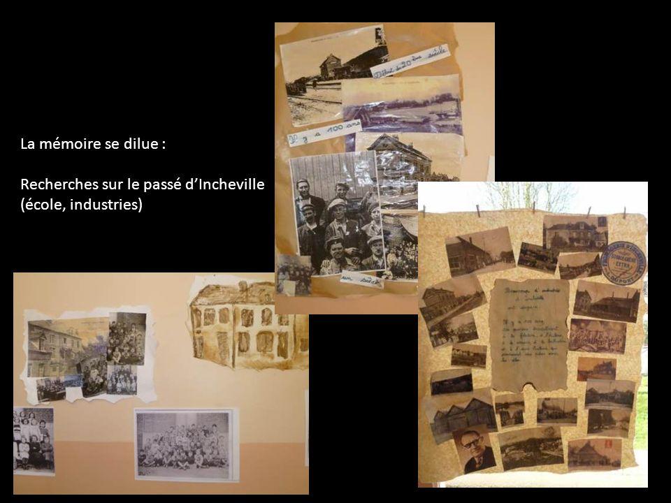 La mémoire se dilue : Recherches sur le passé d'Incheville (école, industries)