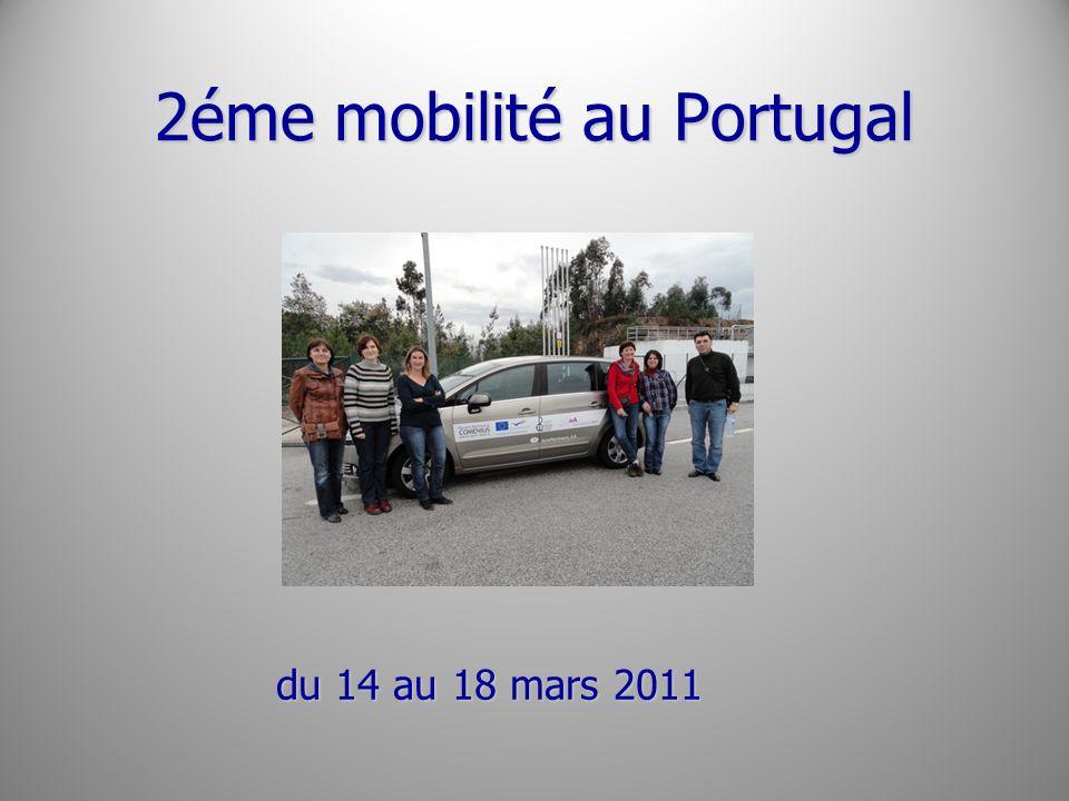 2éme mobilité au Portugal