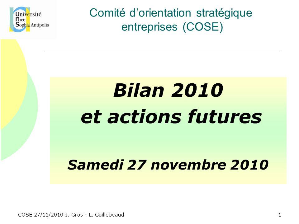 Comité d'orientation stratégique entreprises (COSE)
