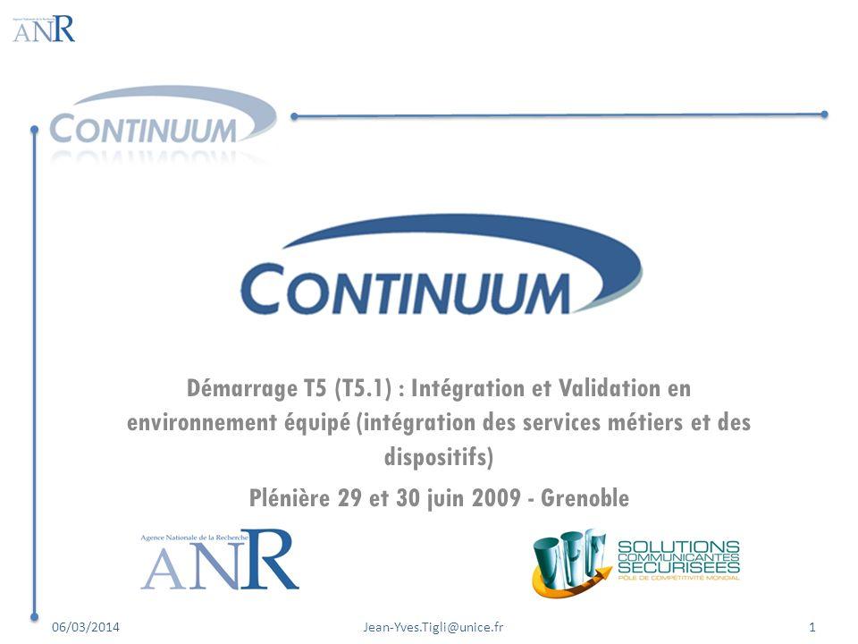 Plénière 29 et 30 juin 2009 - Grenoble