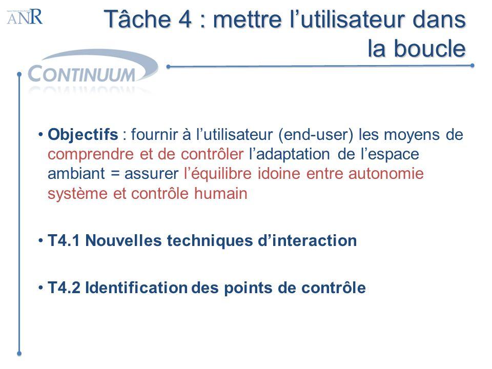 Tâche 4 : mettre l'utilisateur dans la boucle