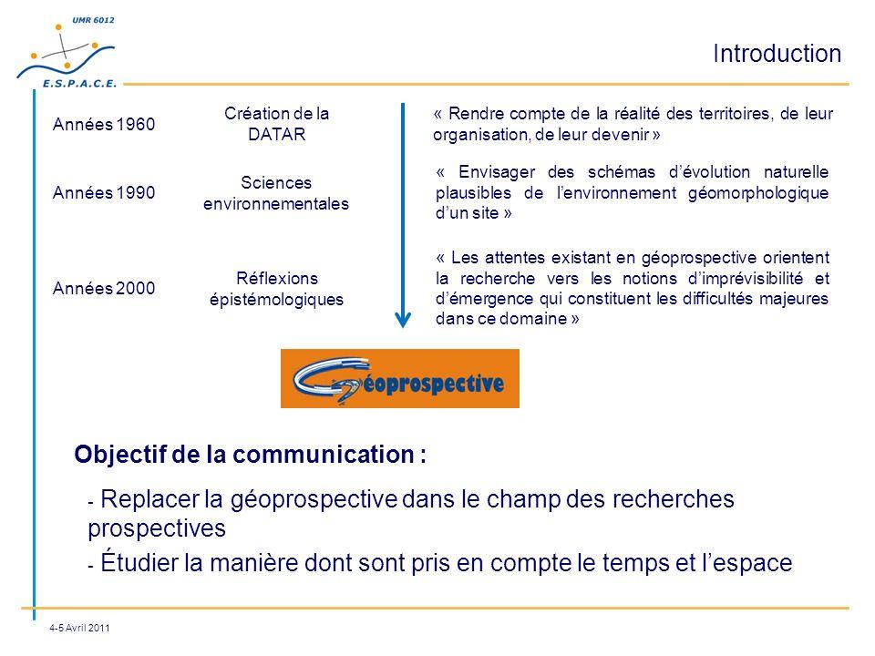 Objectif de la communication :