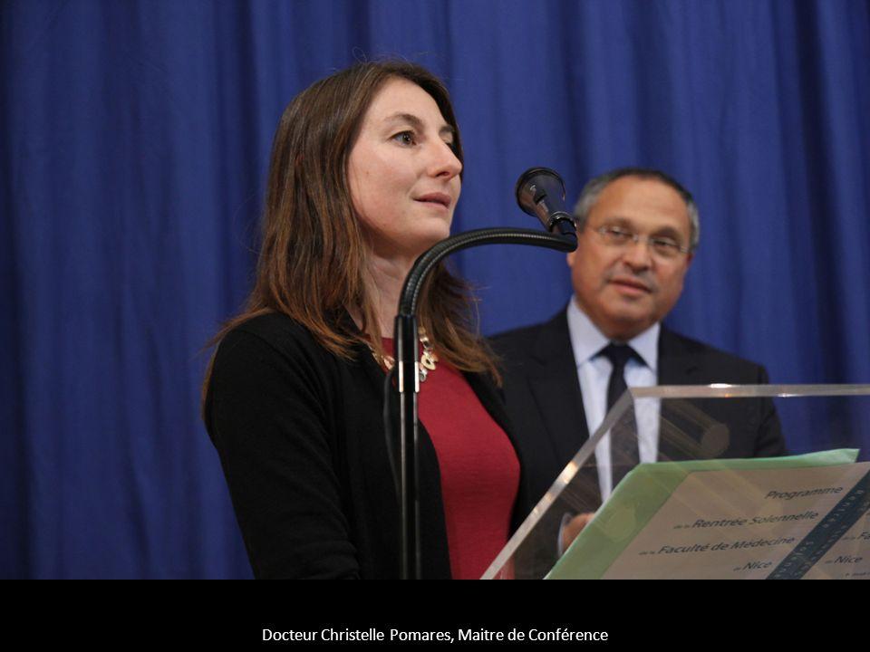 Docteur Christelle Pomares, Maitre de Conférence
