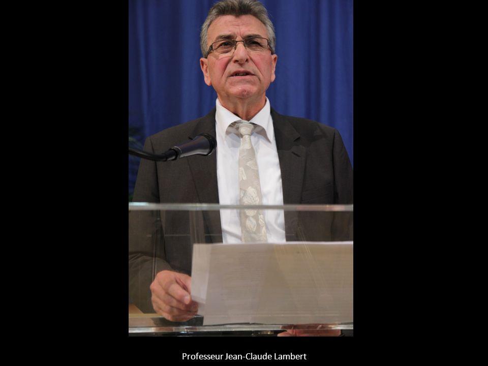 Professeur Jean-Claude Lambert