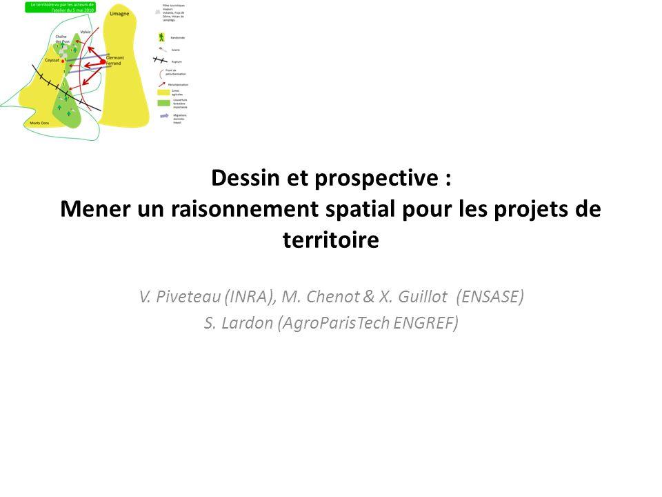 Dessin et prospective : Mener un raisonnement spatial pour les projets de territoire