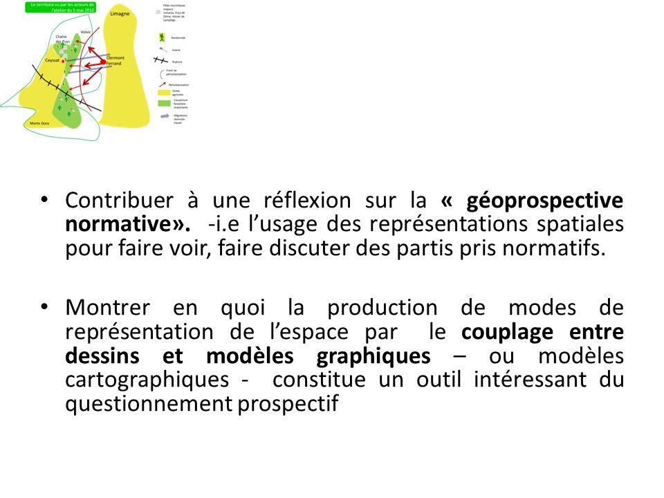 Contribuer à une réflexion sur la « géoprospective normative». -i