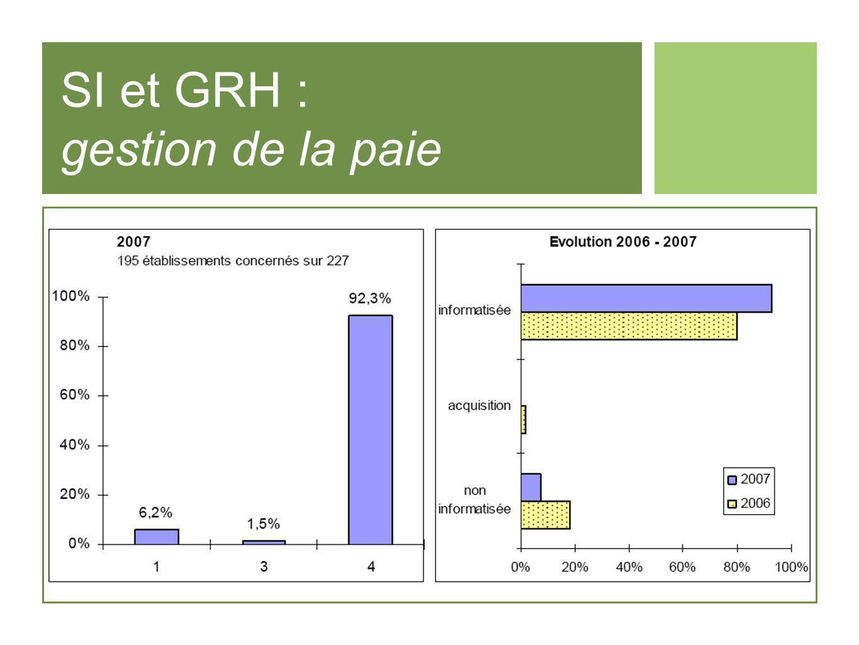 SI et GRH : gestion de la paie