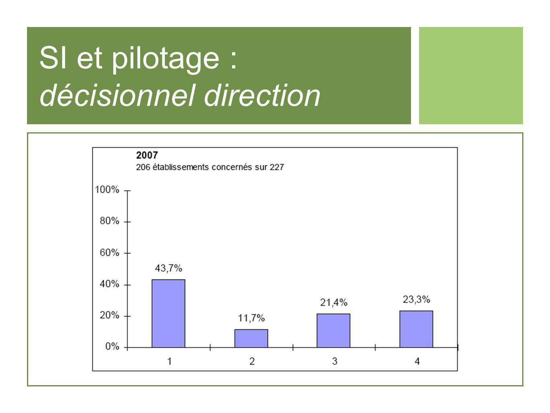 SI et pilotage : décisionnel direction