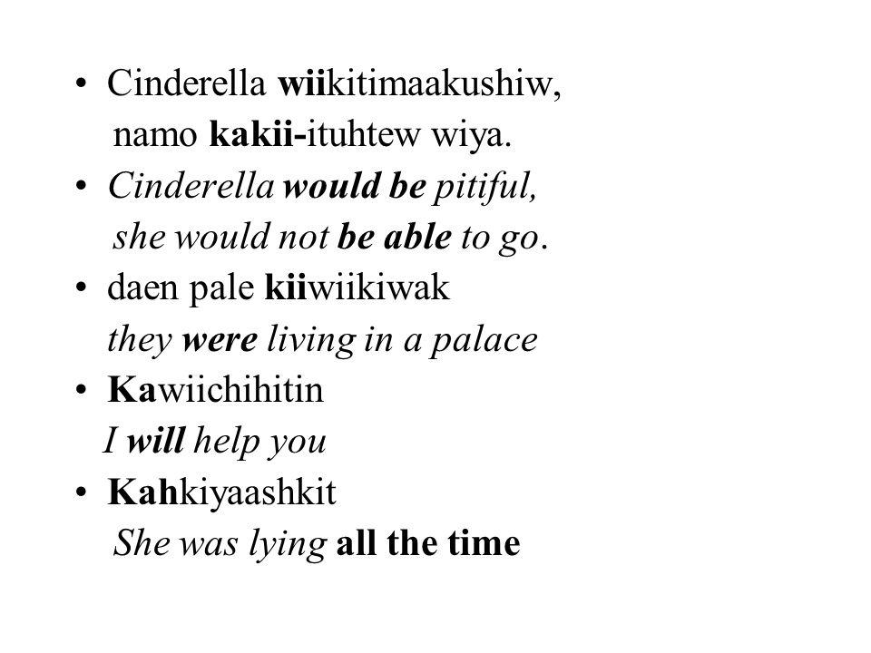 Cinderella wiikitimaakushiw,