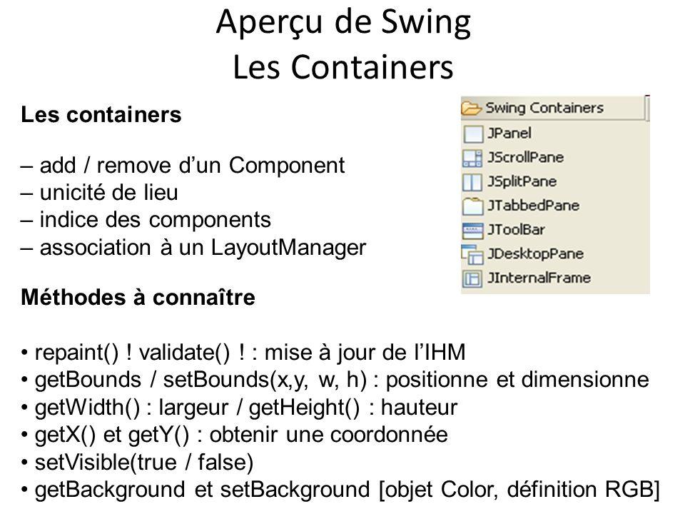 Aperçu de Swing Les Containers