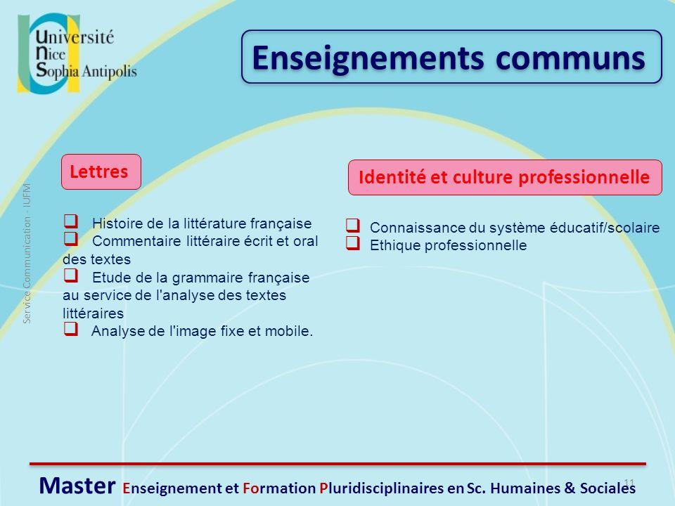Identité et culture professionnelle