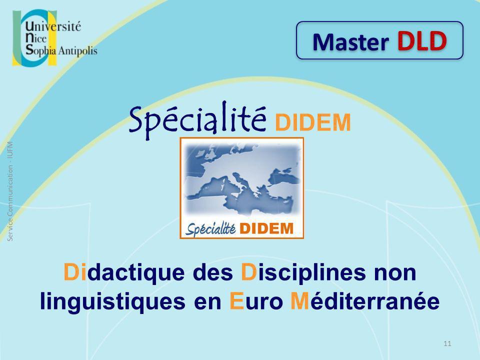 Didactique des Disciplines non linguistiques en Euro Méditerranée