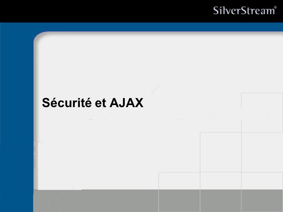 27/03/2017 Sécurité et AJAX