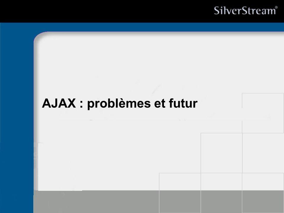 AJAX : problèmes et futur