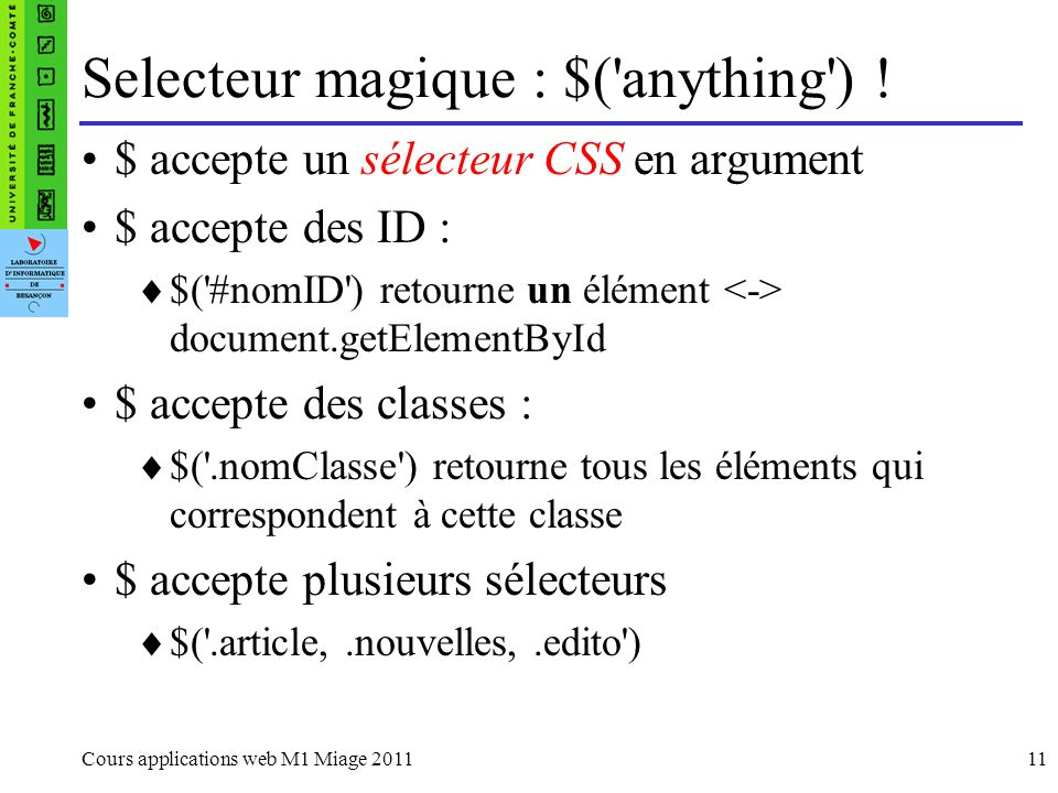 Selecteur magique : $( anything ) !
