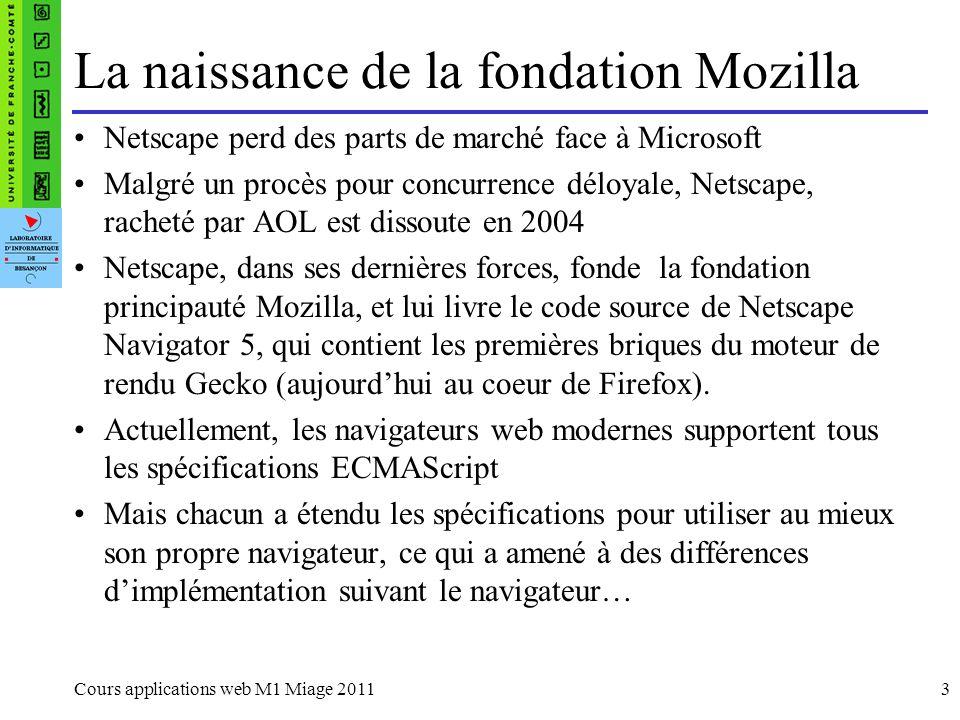La naissance de la fondation Mozilla