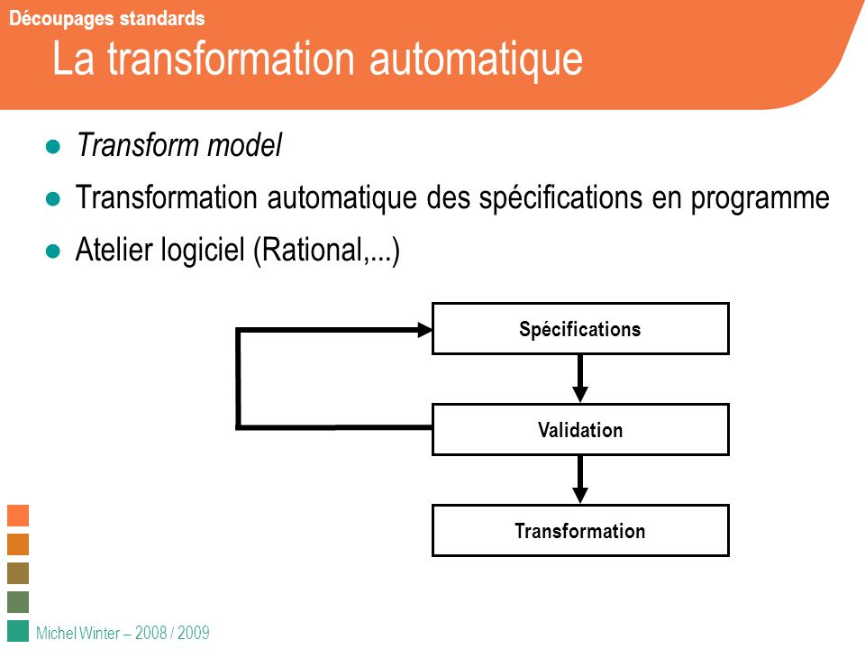 La transformation automatique