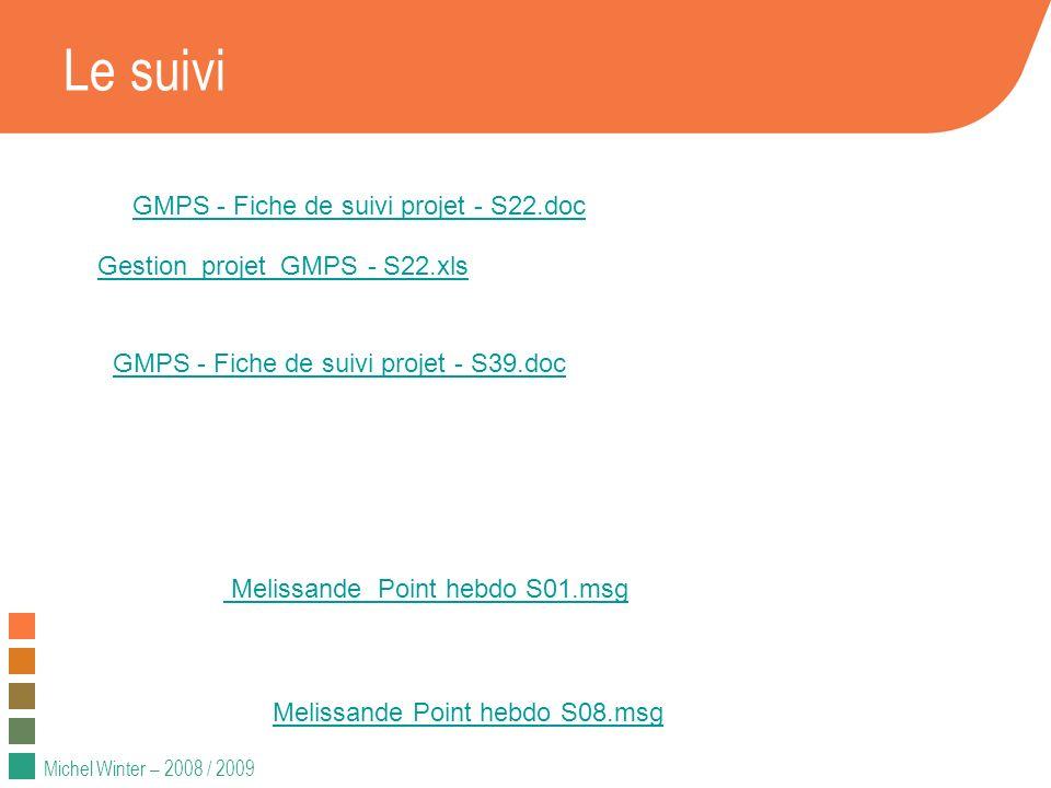 Le suivi GMPS - Fiche de suivi projet - S22.doc