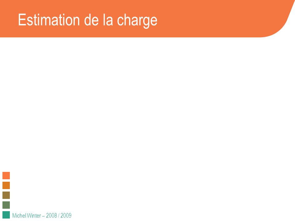 Estimation de la charge