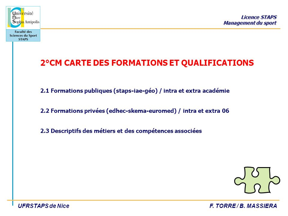 2°CM CARTE DES FORMATIONS ET QUALIFICATIONS 2