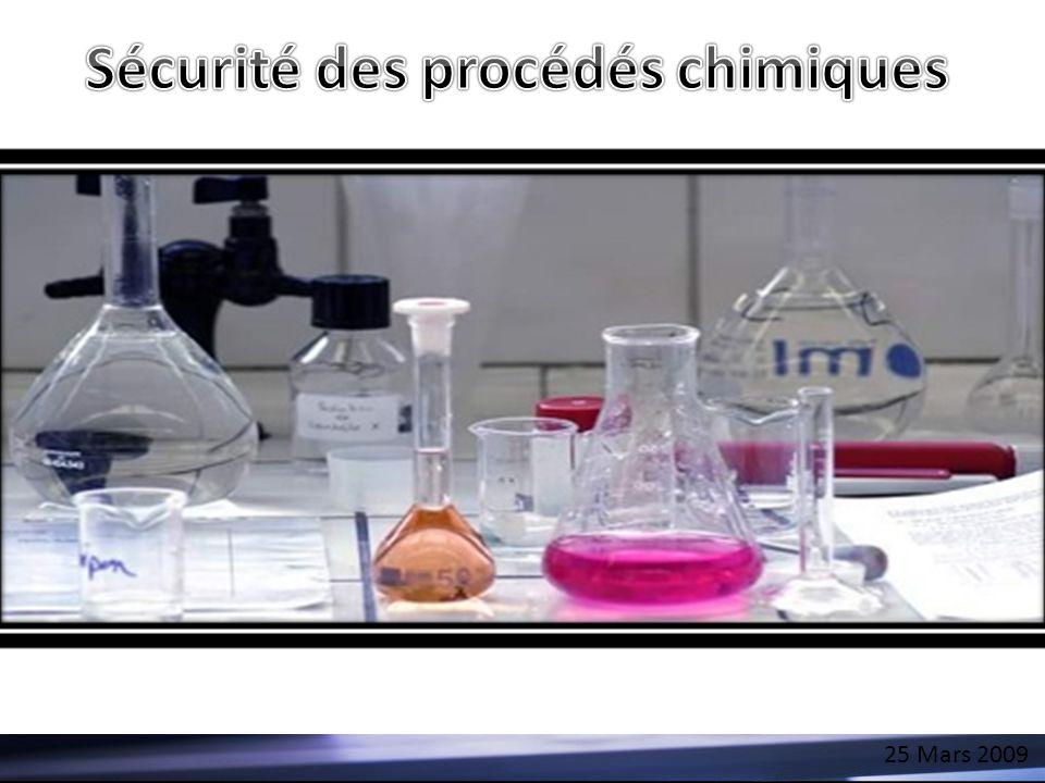 Sécurité des procédés chimiques