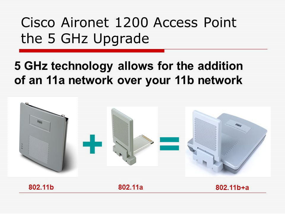 Cisco Aironet 1200 Access Point the 5 GHz Upgrade