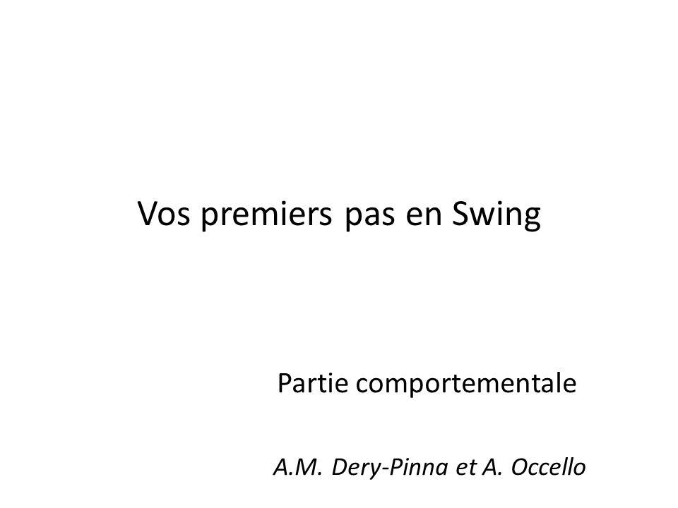 Vos premiers pas en Swing