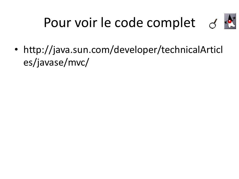 Pour voir le code complet