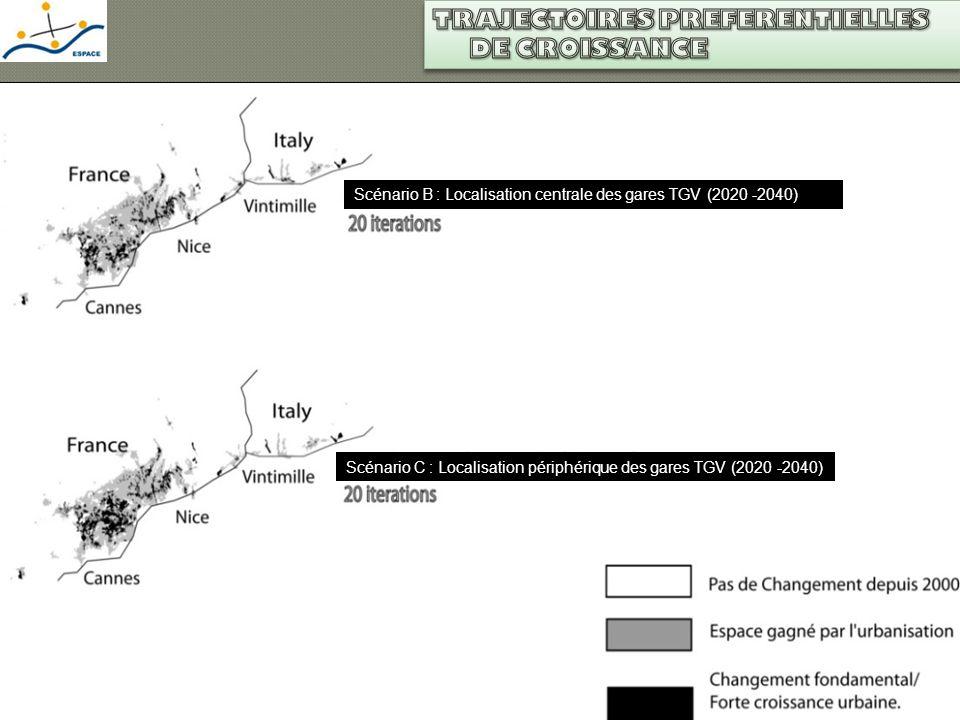 Où De quel type LGV et croissance urbaine Partie 3 Résultats