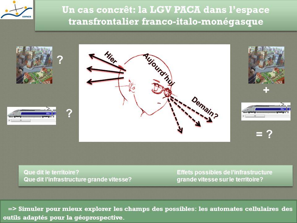 Un cas concrêt: la LGV PACA dans l'espace transfrontalier franco-italo-monégasque