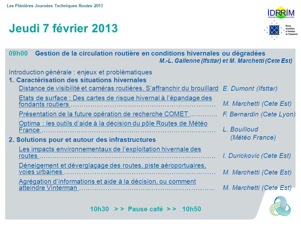 10h30 > > Pause café > > 10h50