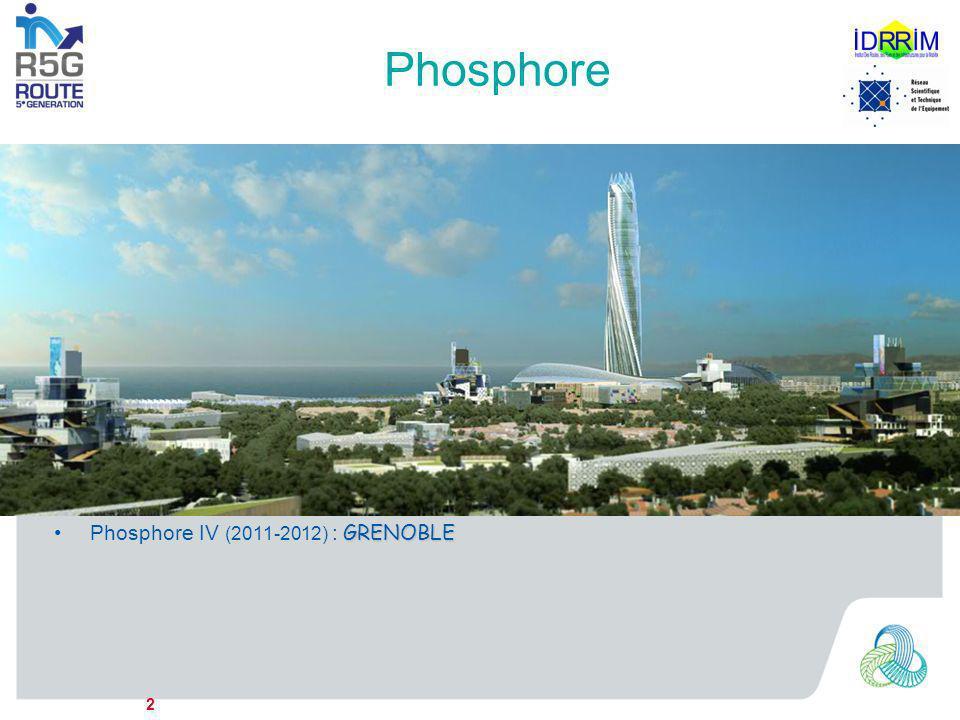 Phosphore Phosphore Laboratoire prospectif de recherche en DD