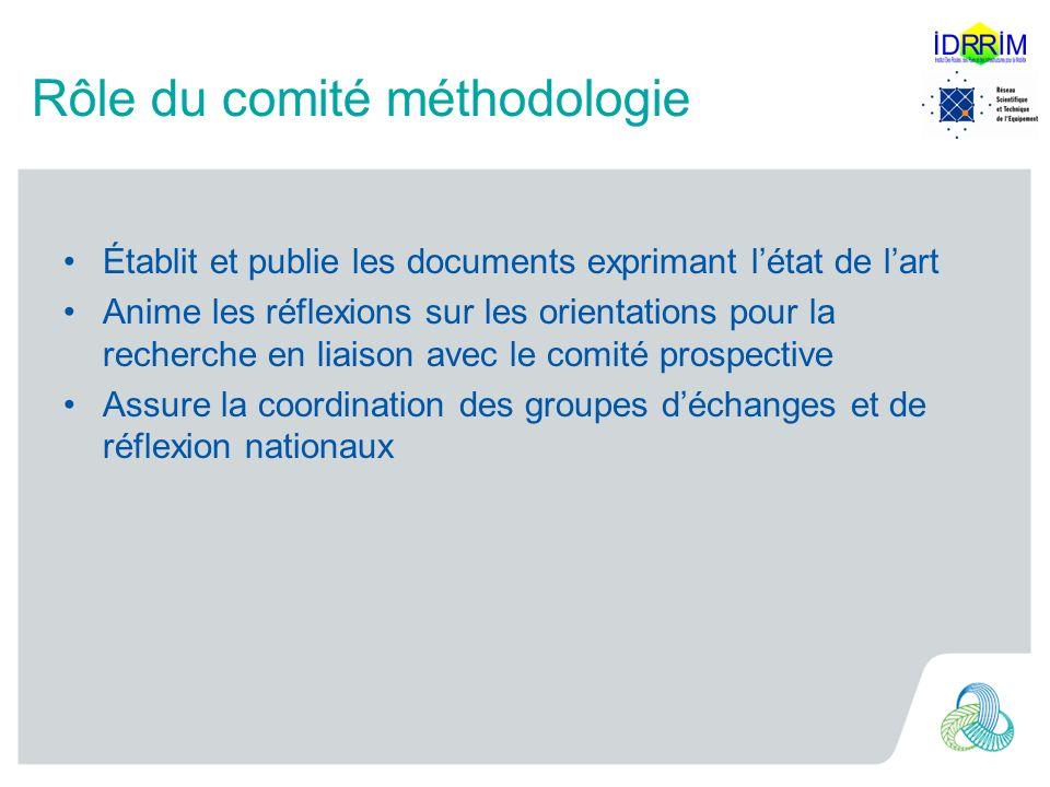 Rôle du comité méthodologie