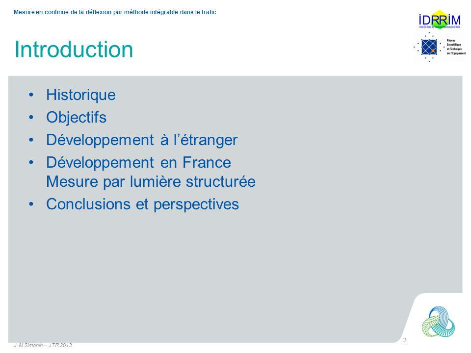 Introduction Historique Objectifs Développement à l'étranger