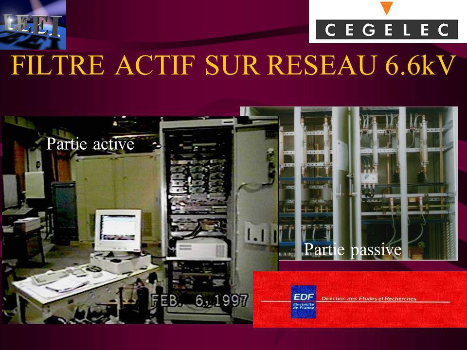 FILTRE ACTIF SUR RESEAU 6.6kV